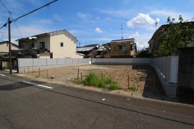 【外観】上賀茂梅ヶ辻町売土地(B号地)