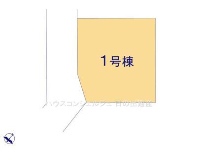 【区画図】名古屋市中川区高杉町282【仲介手数料無料】新築一戸建て
