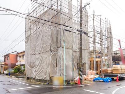 【外観】名古屋市天白区道明町124-1【仲介手数料無料】新築一戸建て