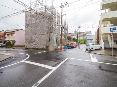 【前面道路含む現地写真】名古屋市天白区道明町124-1【仲介手数料無料】新築一戸建て
