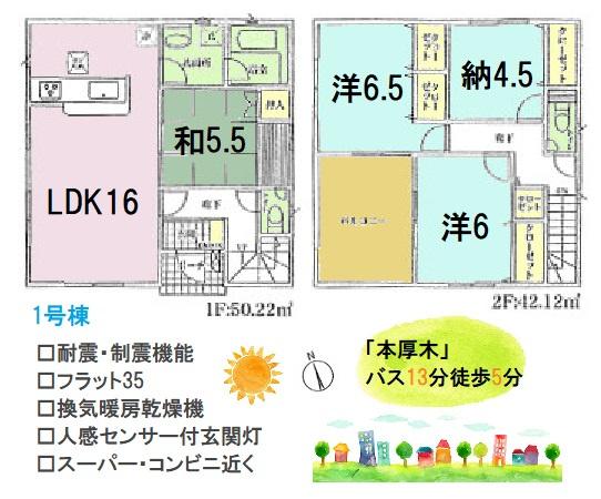 3LDKSと部屋数豊富で、暮らしに合わせたお部屋の使い方ができますよ。色あせや汚れに強い外壁サイディングを採用◎使い勝手が良い和室があるので、来客にも便利ですよ。