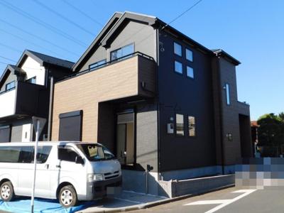 【外観】新座市栄2丁目・全2棟 新築一戸建 2号棟 ~敷地約30坪~