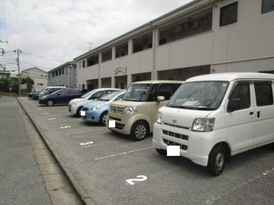 【外観】黒砂第5第6ハイツ駐車場