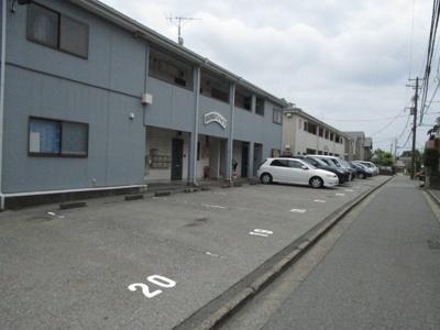 【駐車場】黒砂第5第6ハイツ駐車場