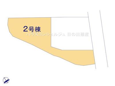 【区画図】東海市荒尾町西川51-11【仲介手数料無料】新築一戸建て
