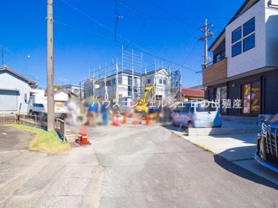 【前面道路含む現地写真】東海市荒尾町西川51-11【仲介手数料無料】新築一戸建て