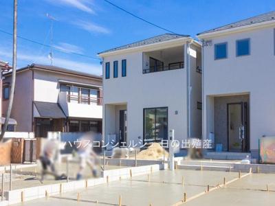 【外観】東海市加木屋町大清水617-1【仲介手数料無料】新築一戸建て