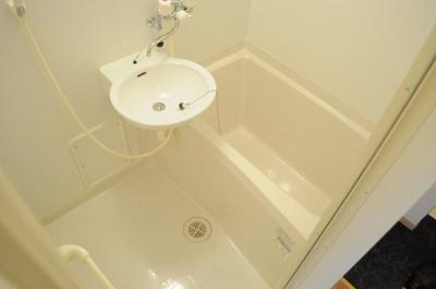 【浴室】レオパレスウェストシティー