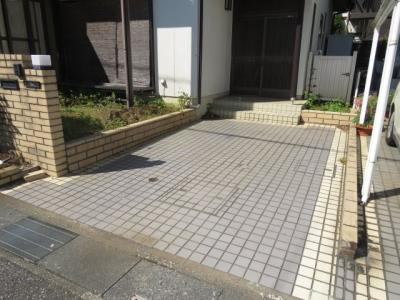 【駐車場】川越市小堤 5LDK+カースペース貸家
