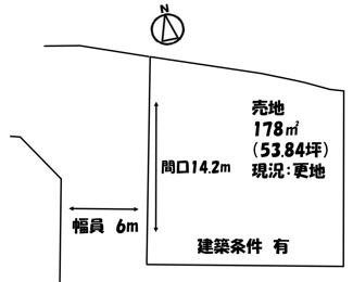【土地図】木原 売地