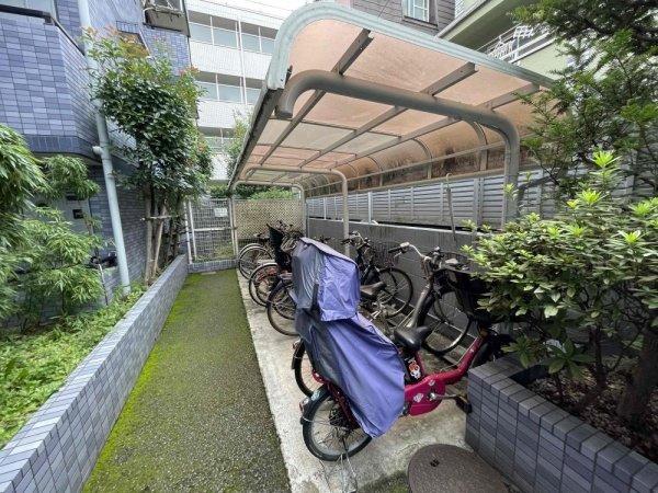 【駐輪場】セザール大岡山ガーデン
