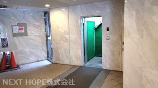 エレベーターがあるので、重たい荷物も楽々移動できます♪