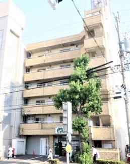 【外観】本陣通沿い 昭和61年築RC造マンション