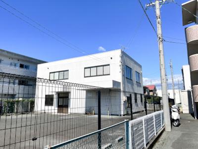 【外観】上新屋 倉庫付事務所
