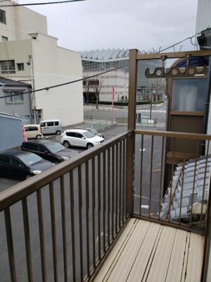 【バルコニー】鳥取市西町1丁目借家