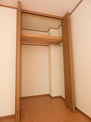 天井までの高さのあるクロゼット