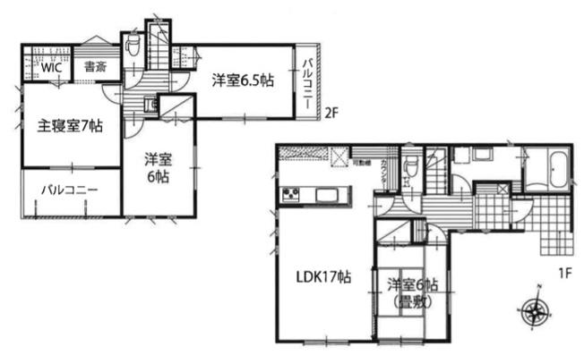 新築分譲住宅 飯能市双柳 全6棟(1号棟)