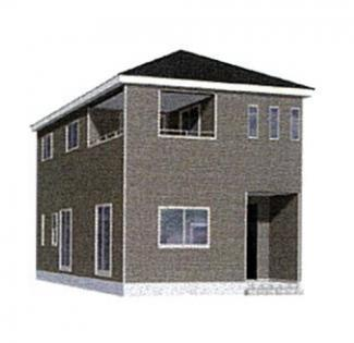 中巨摩郡昭和町河東中島新築戸建・全3棟2号棟・耐震等級3等級