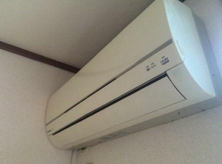 エアコン完備。