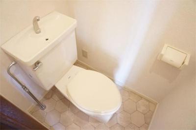 【トイレ】クレセントビル