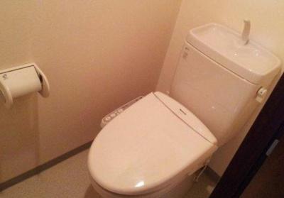 【トイレ】ルリオン八広グランドコート