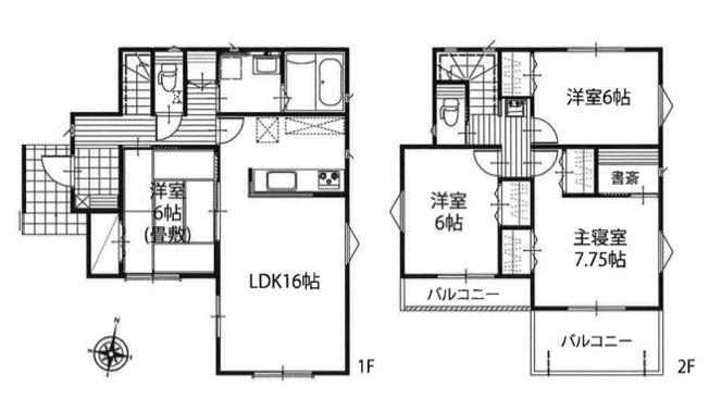 新築分譲住宅 飯能市双柳 全6棟(3号棟)