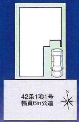 【区画図】宇治市伊勢田町井尻 新築戸建