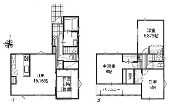新築分譲住宅 飯能市双柳 全6棟(4号棟)