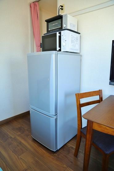 冷蔵庫・電子レンジ・オーブントースター