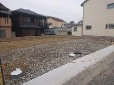 阪堺電軌阪堺線「石津」駅より徒歩4分の好立地!全2棟の新築分譲住宅です♪(2021年9月13日撮影)