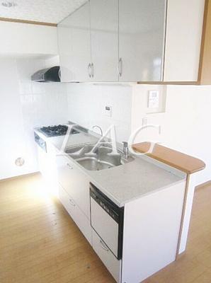 キッチンになります。
