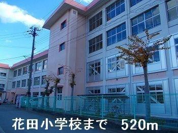 花田小学校まで520m