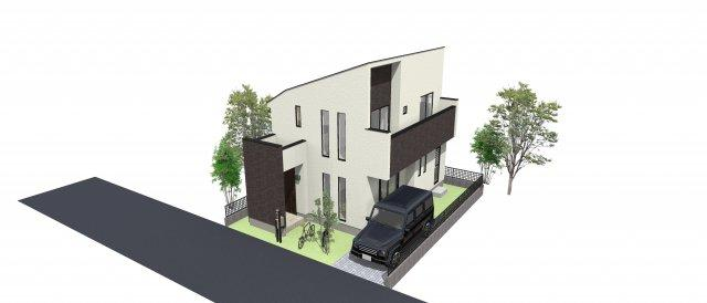 現地更地になりました!低層住居専用の閑静な住宅地に圧迫感の少ない二階建て3LDKを建築致します。駐車スペースは車種により2台分を確保!