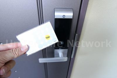 玄関非接触カードキー