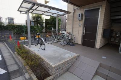 自転車置き場です