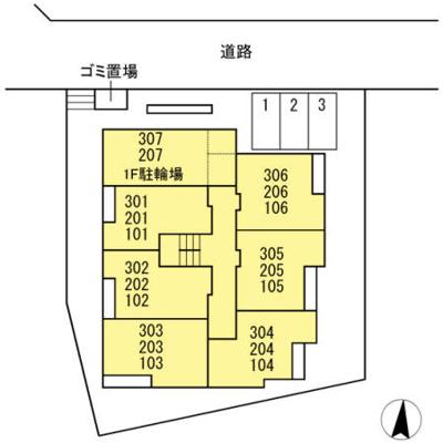【区画図】カーサリオ
