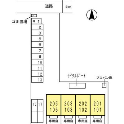 【区画図】フレンダ神前