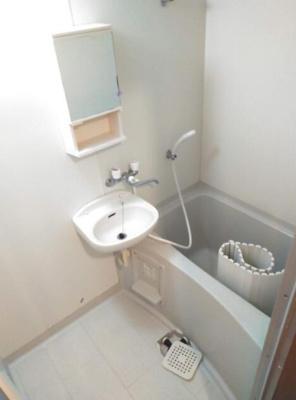 【浴室】フラット中落合