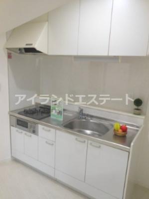 【キッチン】ハピネス池尻 礼金0 2人入居可 浴室乾燥機 オートロック