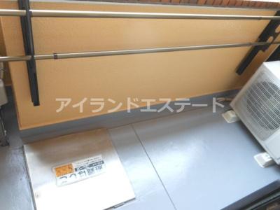 【バルコニー】ハピネス池尻 礼金0 2人入居可 浴室乾燥機 オートロック
