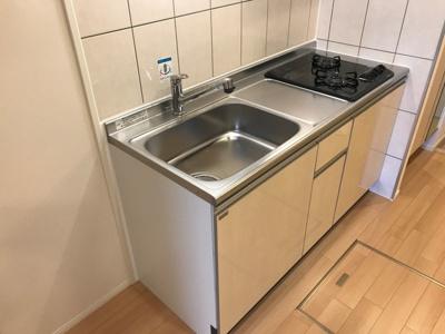 【キッチン】土浦市木田余東台新築アパートB棟(仮)