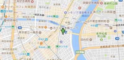 【地図】パレステュディオドルチェ日本橋EAST