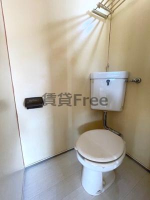 【トイレ】第2タナックマンション 仲介手数料無料