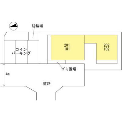 【地図】cfコート