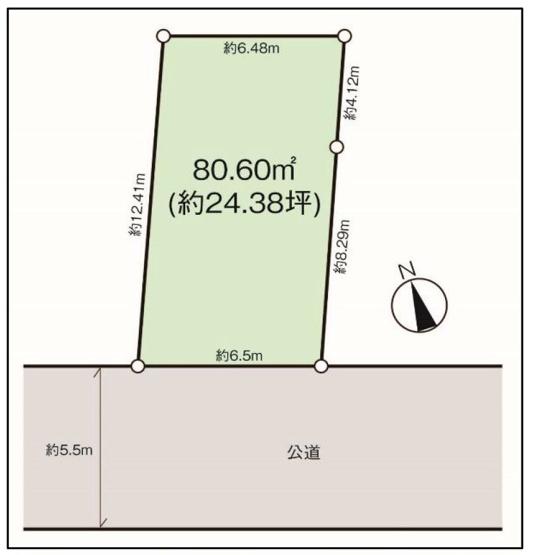 【区画図】仲介手数料無料 武蔵野市関前3丁目 新築一戸建て