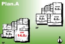 足立区平野条件付き売地【全15区画】の画像