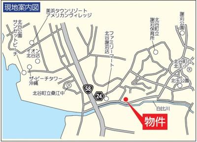【区画図】北谷町吉原 第2(全6棟)