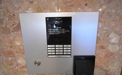 モニター付きオートロックで防犯面も安心です!