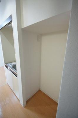 「冷蔵庫スペースもあります」