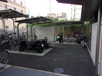 ☆CREVISTA北綾瀬☆駐輪スペース☆
